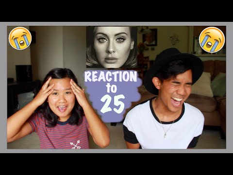 Reaction To 25 By Adele