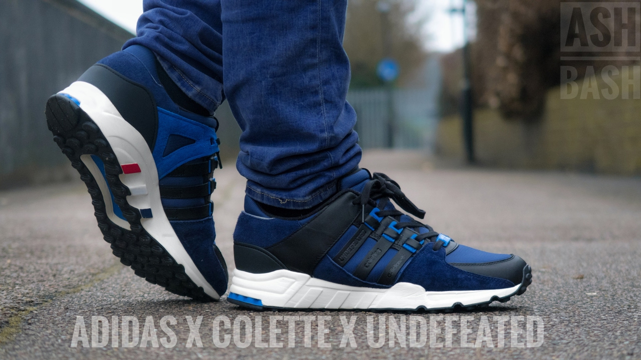 separation shoes e1d8e 74460 Adidas x Colette x Undefeated | EQT Support | Ash Bash