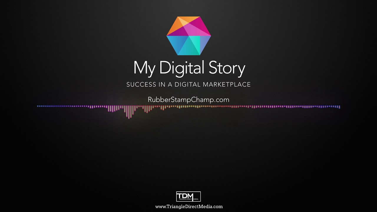 Rubber Stamp Champ On My Digital Story Podcast