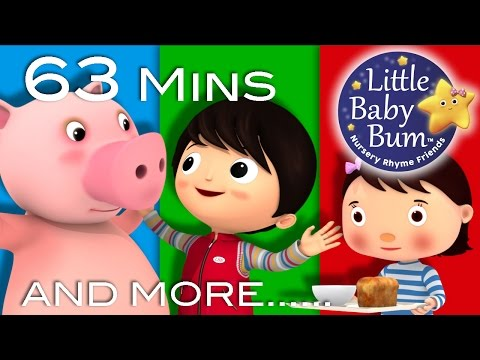 Being Kind To Each Other Song | Plus Lots More Nursery Rhymes | 63 Minutes from LittleBabyBum!