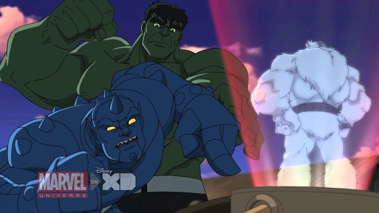 marvel�s hulk and the agents of smash video