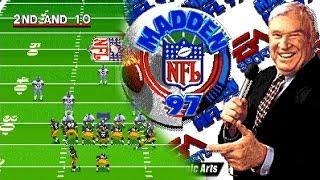 Madden NFL 97 ... (SNES) 60fps