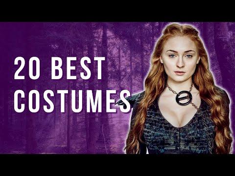 Top 20 BEST Game Of Thrones Women's Costumes - S1-7