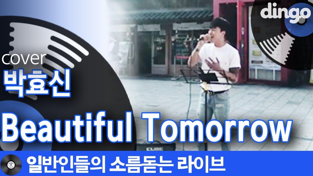 [일소라] 홍대 길거리 걷다 갑자기 혼자 이별하게 만드는 'Beautiful Tomorrow' (박효신) cover
