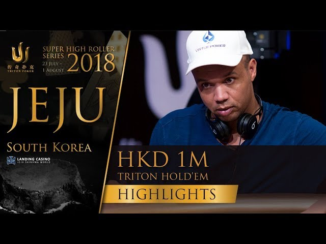 Triton Poker SHR Jeju 2018 - HKD 1m Short Deck Event Highlights