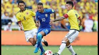 Colombia Vs Brasil 1-1  Goles Y Resumen En HD  eliminatorias Rusia 2018