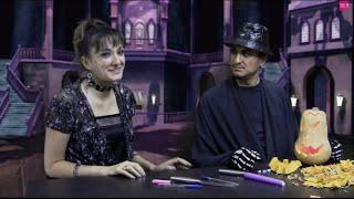 Halloween в гостях у Марины MGM! Как сделать светильник из тыквы на Helloween? + Конкурс ★MGM★