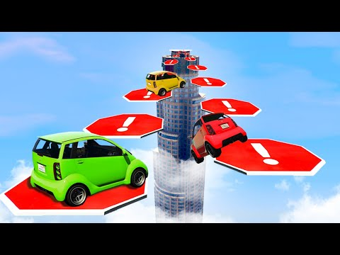 Most DIFFICULT Jumps To Make! (GTA 5 Funny...