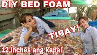 VLOG# 315 MURANG BED FOAM MAKAPAL NA MATIBAY PA