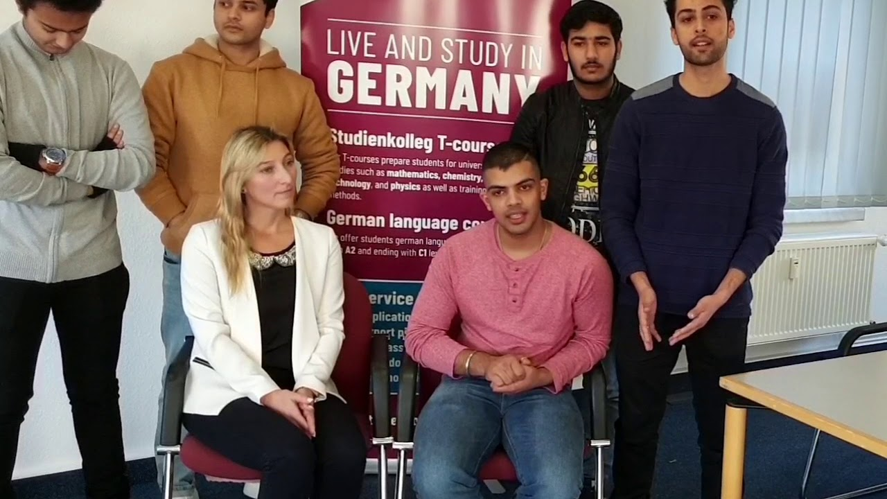 Ms  Marina Weidner welcoming YES Germany students | Indian Students in  Germany