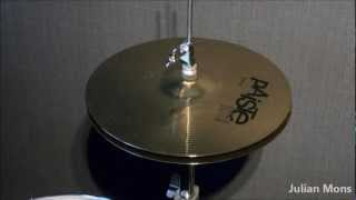 Test of Paiste 101 Brass 13'' Hi-Hat Cymbal