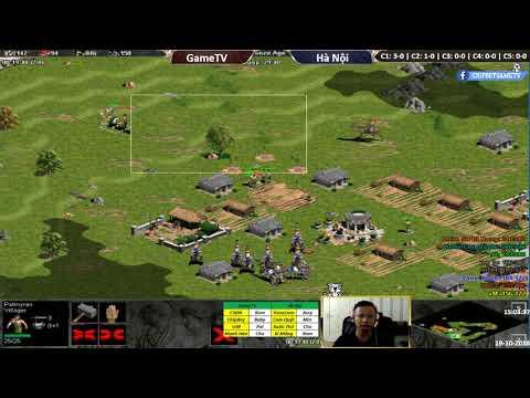 C2T2 | 4vs4 Random | GameTV vs Hà Nội | Ngày 19-10-2018