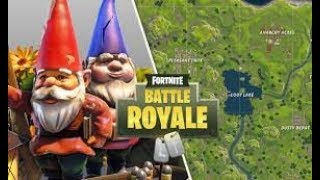 SEARCH THE GNOMO NASCOSTO IN DIVERSE LOCALITA WITH NAME Fortnite Royal Battle