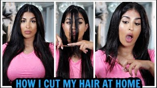 HOW TO CUT YOUR HAIR AT HOME - EASY