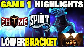 EHOME VS TEAM SPIRIT GAME 1 Highlights MDL Chengdu Major Lower Bracket