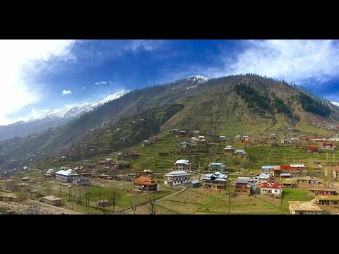 Road trip to Neelum Valley, Azad Kashmir Pakistan 1080p[HD] Time lapse