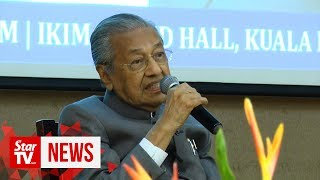 "Dr M: Pakatan replaced Islamic leaders who did ""not-so-Islamic things"
