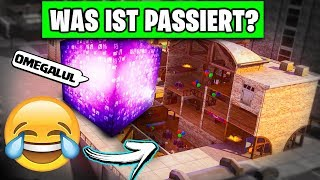NEW Building in Tilted Towers 😱 What Happened? | Fortnite Cube Season 6 German