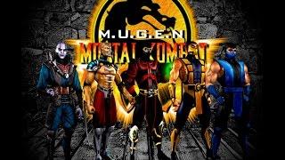 M.U.G.E.N Mortal Kombat 4 Gold (PC) - Gameplay - [Геймплей]