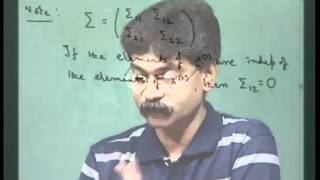 Mod-01 Lec-01 Lecture 1 - Basic concepts on multivariate distribution - I