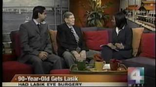 90 Year old gets Lasik to see 20/20 with Dr.Gulani: Morning Show