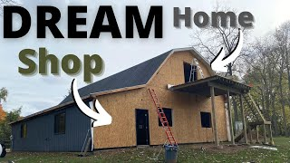 Turning Polebarn Into Dream Shop & Home // Part 1