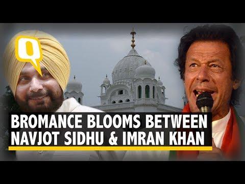 Imran-Sidhu Trade Compliments at Kartarpur Corridor Ceremony