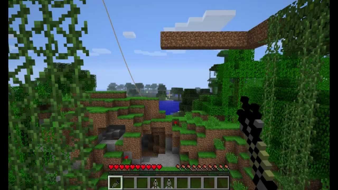 minecraft climbing rope