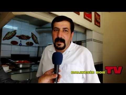 DEMİRCİ KEBABI BALIKESİR BOR TV DE