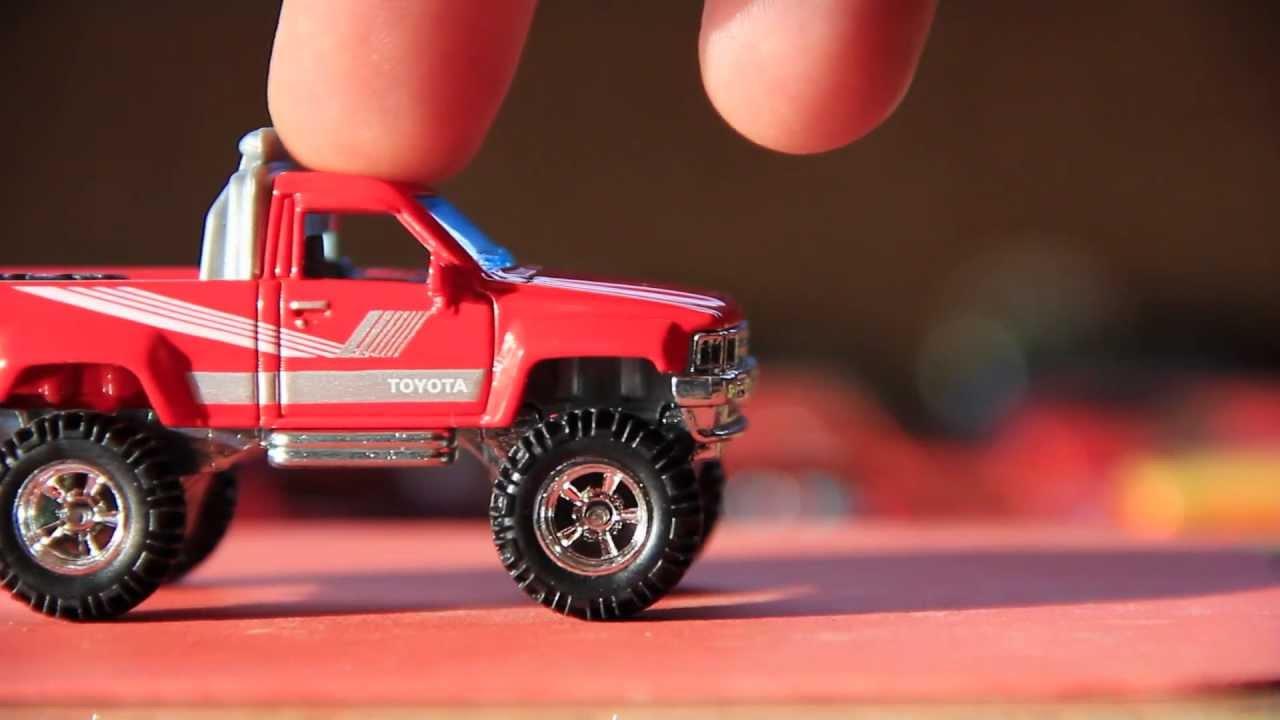 Hot Wheels Quot Hot Ones Quot Toyota Truck Wheel Swap Custom Youtube
