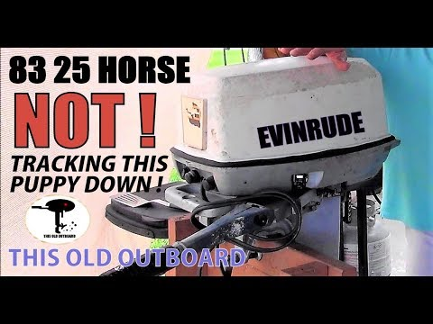 1975 25HP EVINRUDE BUILD - BEFORE AND AFTER - YouTube