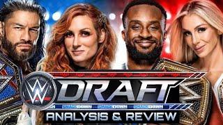 WWE DRAFT 2021 Analysis Review Raw Smackdown Superstar Draft Live Stream