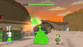 The Simpsons Game (Xbox 360) ~ Level 12: Medal of Homer (Collectables)