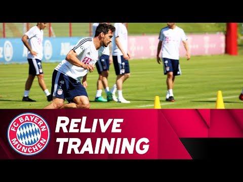 LIVE 🔴 | FC Bayern Training - Vorbereitung auf Stuttgart