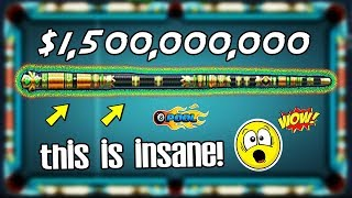 PURCHASING THE MOST EXPENSIVE 8 BALL POOL CUE EVER - 1.5 Billion Cue