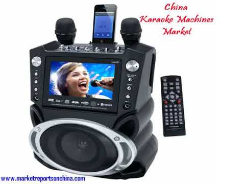 China Karaoke Machines Market by Manufacturers and Forecast to 2022