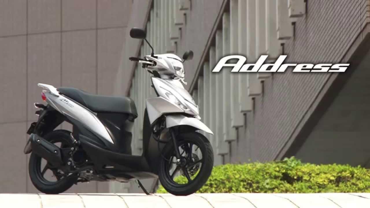 Suzuki Address 110, 2015 Official