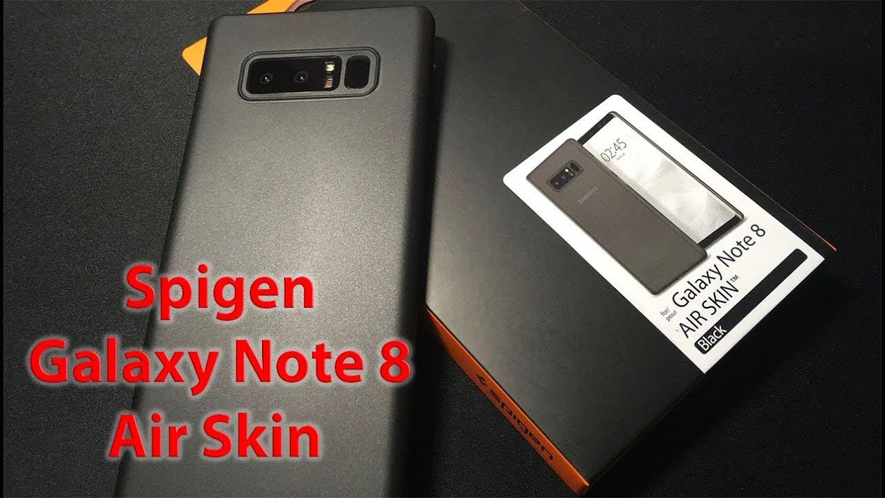 huge discount 00d33 12395 Spigen Galaxy Note 8 Air Skin Kılıf İncelemesi