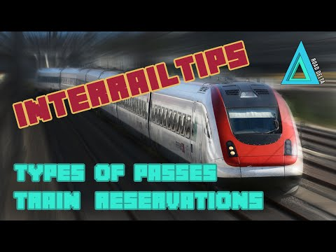 Train Reservations and Types of InterRail Passes | Road Delta