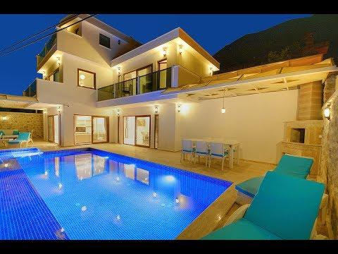 Tatil Villam | Villa White Angel - Kalkan kiralık villa tatili