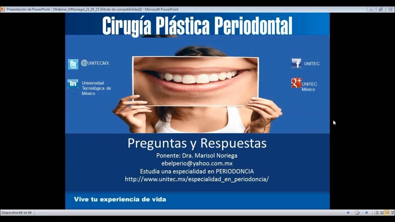 Periodontal plastica que la cirugia es