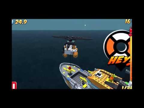 Trực thăng cứu hộ Lego, Máy bay cứu hộ Lego HD - Channel For Kids