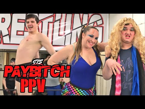 VIRGIN GETS HIS 1st KISS LMFAO! WILD TAG MATCH AT GTS PPV EVENT!