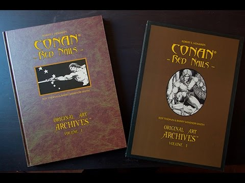 Barry Windsor Smith Conan Art Archives Youtube