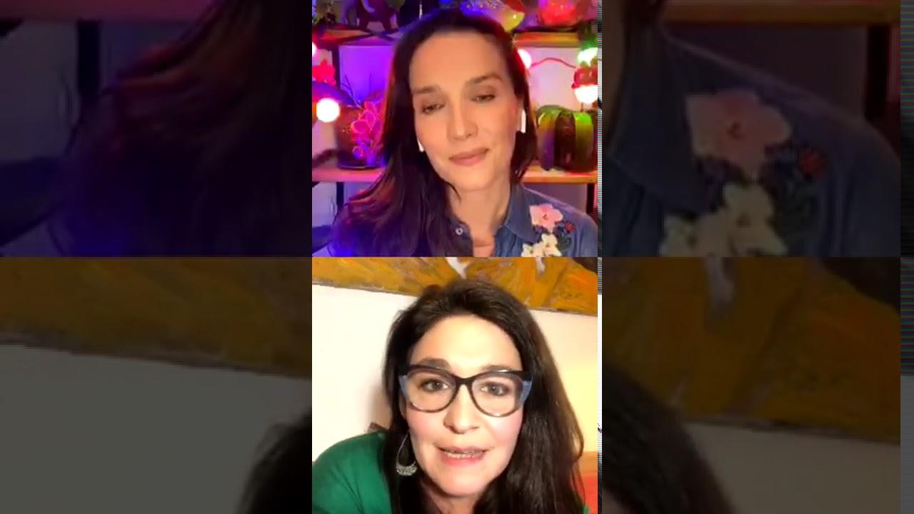 Natalia Oreiro Vivo con Lorena Muñoz