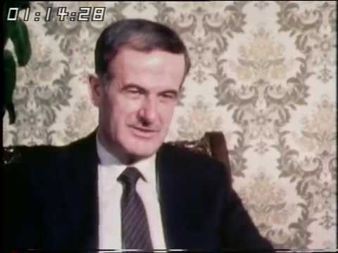 Interview with the President of Syria | President Assad | Syria | 1981