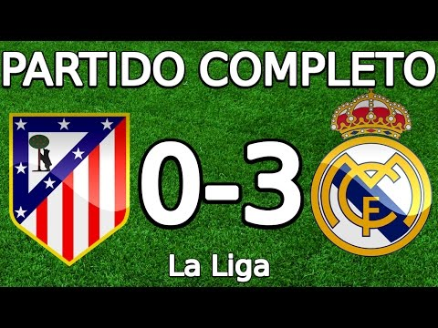 Atlético Madrid VS Real Madrid 0-3 partido completo 19.11.2016 HD (La Liga) (COPE)