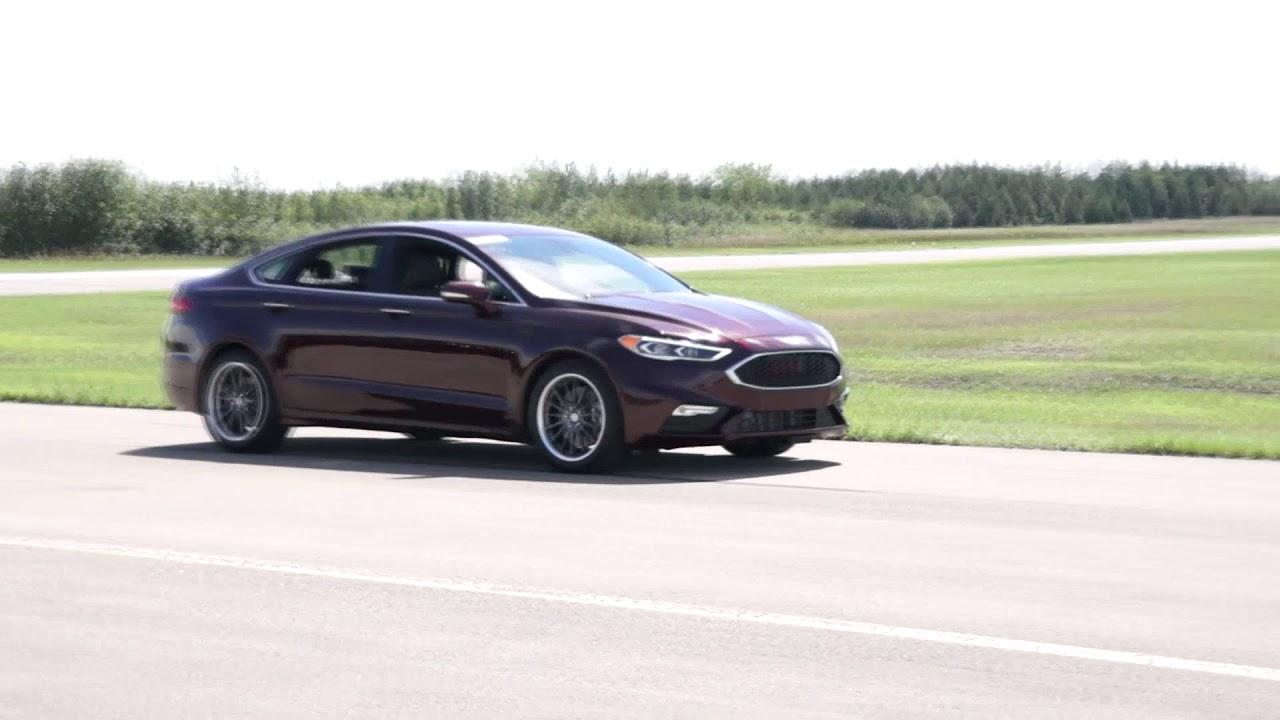 2017 Ford Fusion Sport 1 4 Mile 12 25 Lms Tune 100 Octane