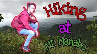 Hiking at Mt. Manabo,Lumbang,Batangas|Arjay TV