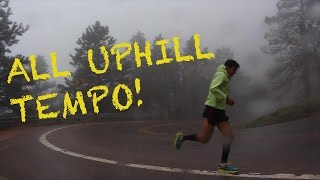 Sage Canaday: Training For Comrades | Uphill Tempo Run: Running Economy workout
